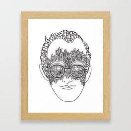 Keith Haring Tribute #1 Framed Art Print