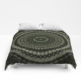 Fractal Kaleido Study 005 in CMR Comforters