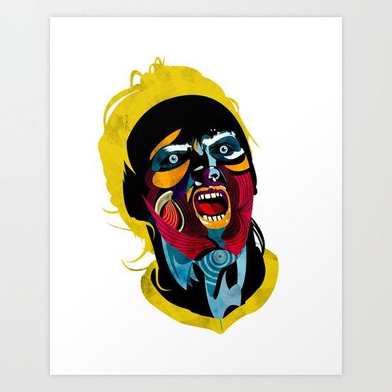 Futbolista_02 Art Print