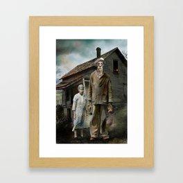 H.P. Lovecraft The Dunwich Horror -- Lavinia and Wilbur Framed Art Print