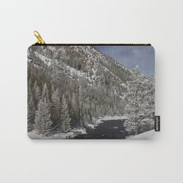 Carol Highsmith - Snow Covered Conifers Carry-All Pouch