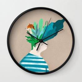 New Haircut Wall Clock