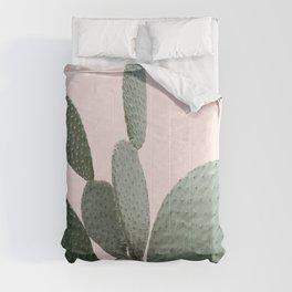 Cactus Photography | Pink | Desert-Cactus | Landscape | Tropical | Arizona Comforters