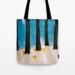 Foxs in the Forest Tote Bag