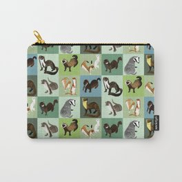 Best Nine  Mustelids from Spain Carry-All Pouch