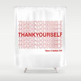 THANKYOURSELF Shower Curtain