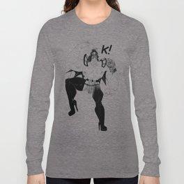 Maori kiss Long Sleeve T-shirt