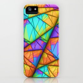 Colorful Slices iPhone Case