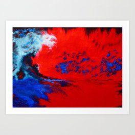 This is the way the world ends... Art Print