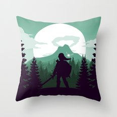 The Legend of Zelda - Green Version Throw Pillow