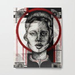 Circle mage Metal Print