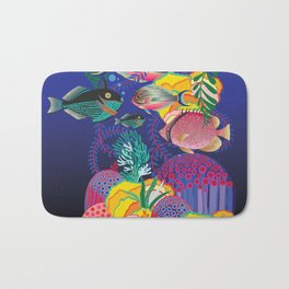 Exotic Sea Life Bath Mat