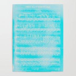 Schubert Sheet Music - Impromptu (v2) Poster