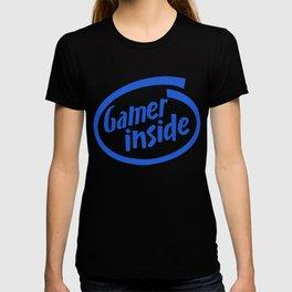 Gamer iNSIDE blue T-shirt