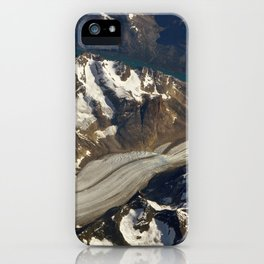 Glaciers. iPhone Case