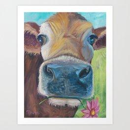 Moo Ann Art Print
