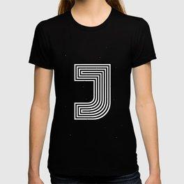 """Illusive letter """"J"""" T-shirt"""