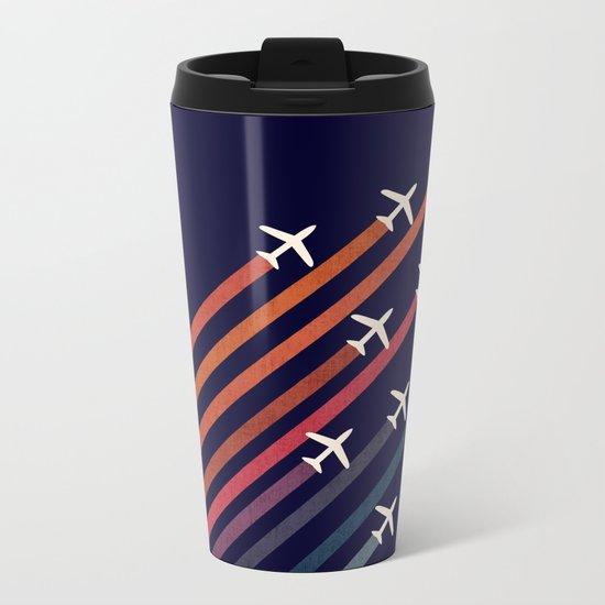 Aerial acrobat Metal Travel Mug