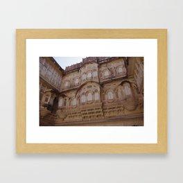 Meherangarh fort Framed Art Print