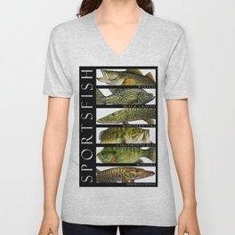 Sport Fish of North America Unisex V-Neck