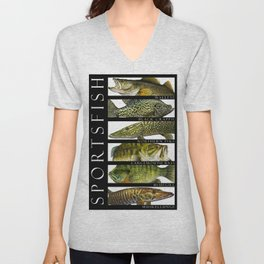 Sport Fish of North America Unisex V-Neck