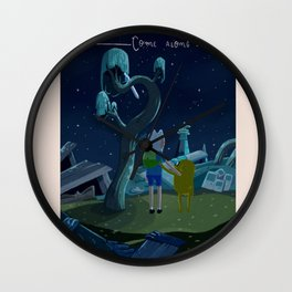 Come along with me Wall Clock