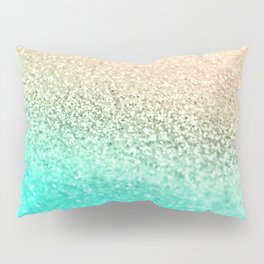 GOLD AQUA Pillow Sham
