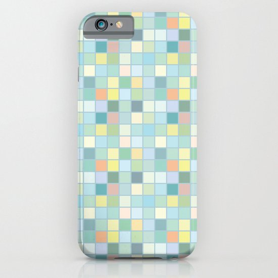 Pastel Squares iPhone & iPod Case
