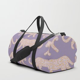 Kitty Parade - Pink on Lavender Duffle Bag