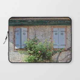 Windows and Pink Roses Laptop Sleeve