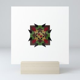 untitled star Mini Art Print