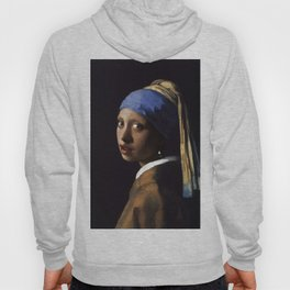 Girl With The Pearl Earring Ethnic Hoody