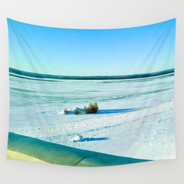 The beauty of the snow and cold. Wall Tapestry
