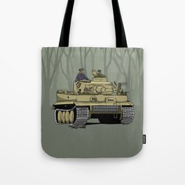 Dogs of War: Tiger 1 Tote Bag