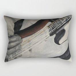 guitar onstage Rectangular Pillow