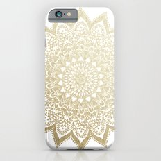 BOHO NIGHTS GOLD MANDALA Slim Case iPhone 6s