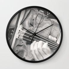 The Note Waltz Wall Clock