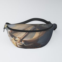 Stolen Painting - The Storm on the Sea of Galilee by Rembrandt Fanny Pack