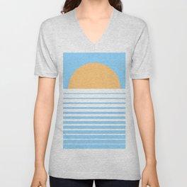 Tropical Sun Unisex V-Neck