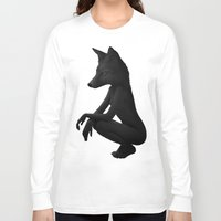 wild Long Sleeve T-shirts featuring The Silent Wild by Ruben Ireland