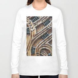 A Maori Carving Long Sleeve T-shirt