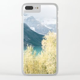 Lake Louise III Clear iPhone Case