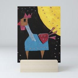 Squareland - squicken Mini Art Print