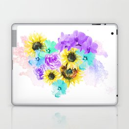 Floral Overdose Laptop & iPad Skin