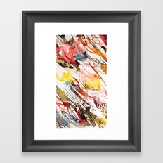 comic letter 2 Framed Art Print