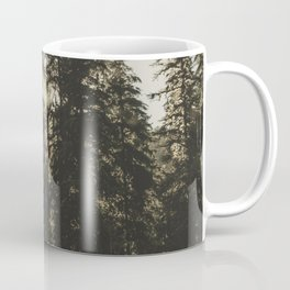 Sunset in the Woods - Nature Photography Coffee Mug