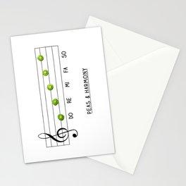Peas & Harmony Stationery Cards