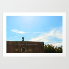 Our Lady of Good Voyage  Art Print