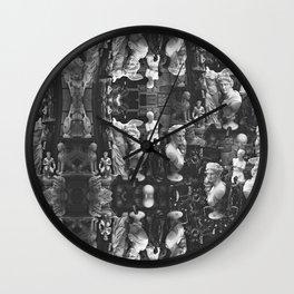 Greek statues Wall Clock