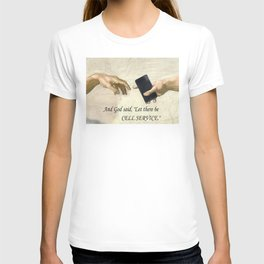 God's Gift - Cell Service T-shirt